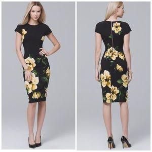 NWT WHBM Floral Sheath Dress